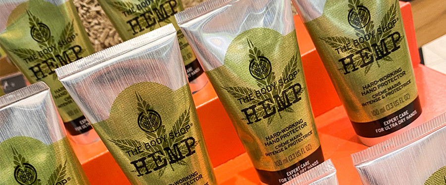 The Body Shop New Hemp Collection