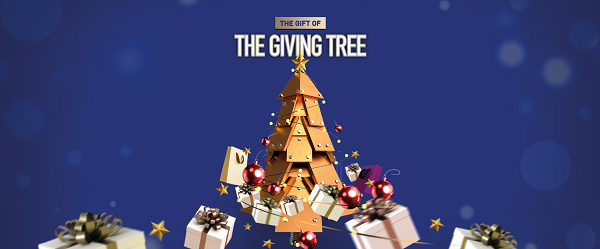 The Gift of the Giving Tree at Drake Circus