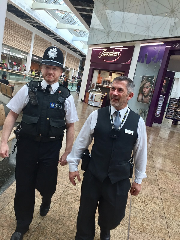 Police and Security at Meadowhall