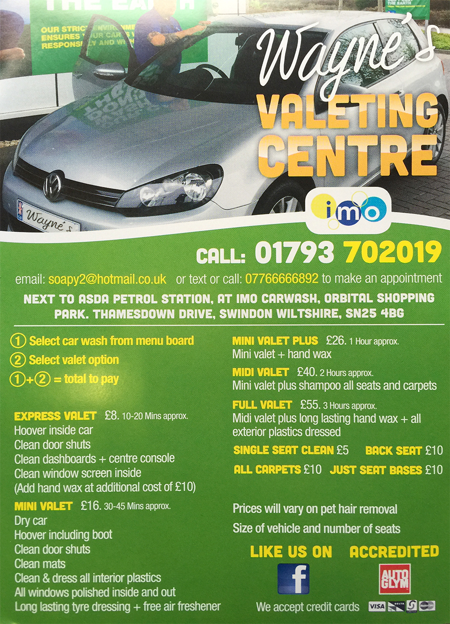 Car wash orbital shopping in swindon shops restaurants cafes attended car wash vacuum and valeting services offering quality speed and great value for money solutioingenieria Image collections