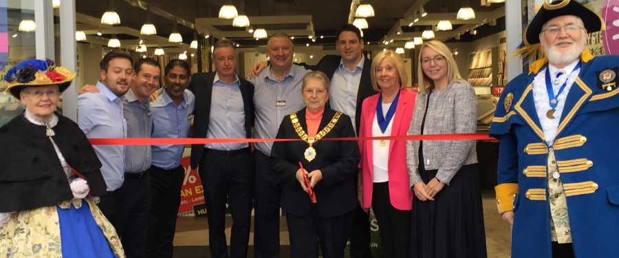 Tapi Carpets lands in Dartford