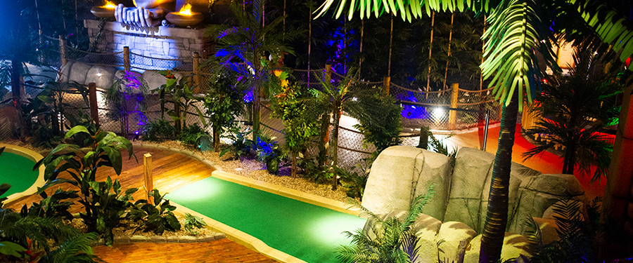 The Lost City Adventure Golf and Tiki Bar