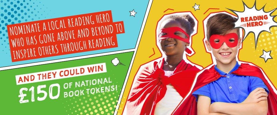 We're looking for a young Reading Hero in Stockton-on-Tees