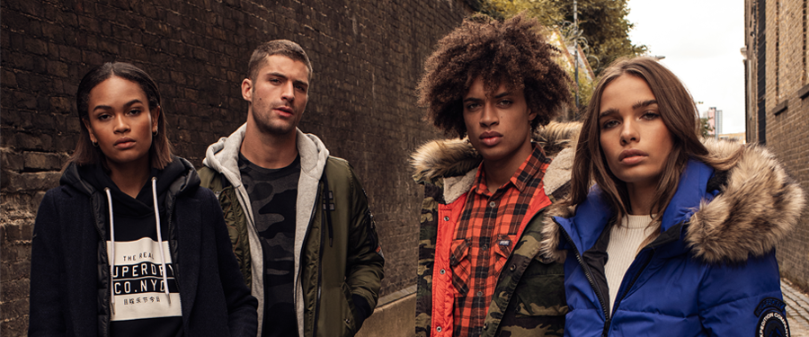 Superdry is here
