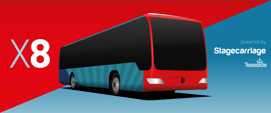 Stagecarriage new X8 bus service